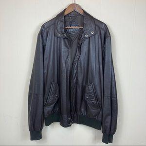80's Vintage Members Only Vintage Leather Jacket